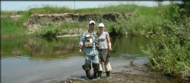 Wyoming hunting trip for big game fly fishing self for Fly fishing games